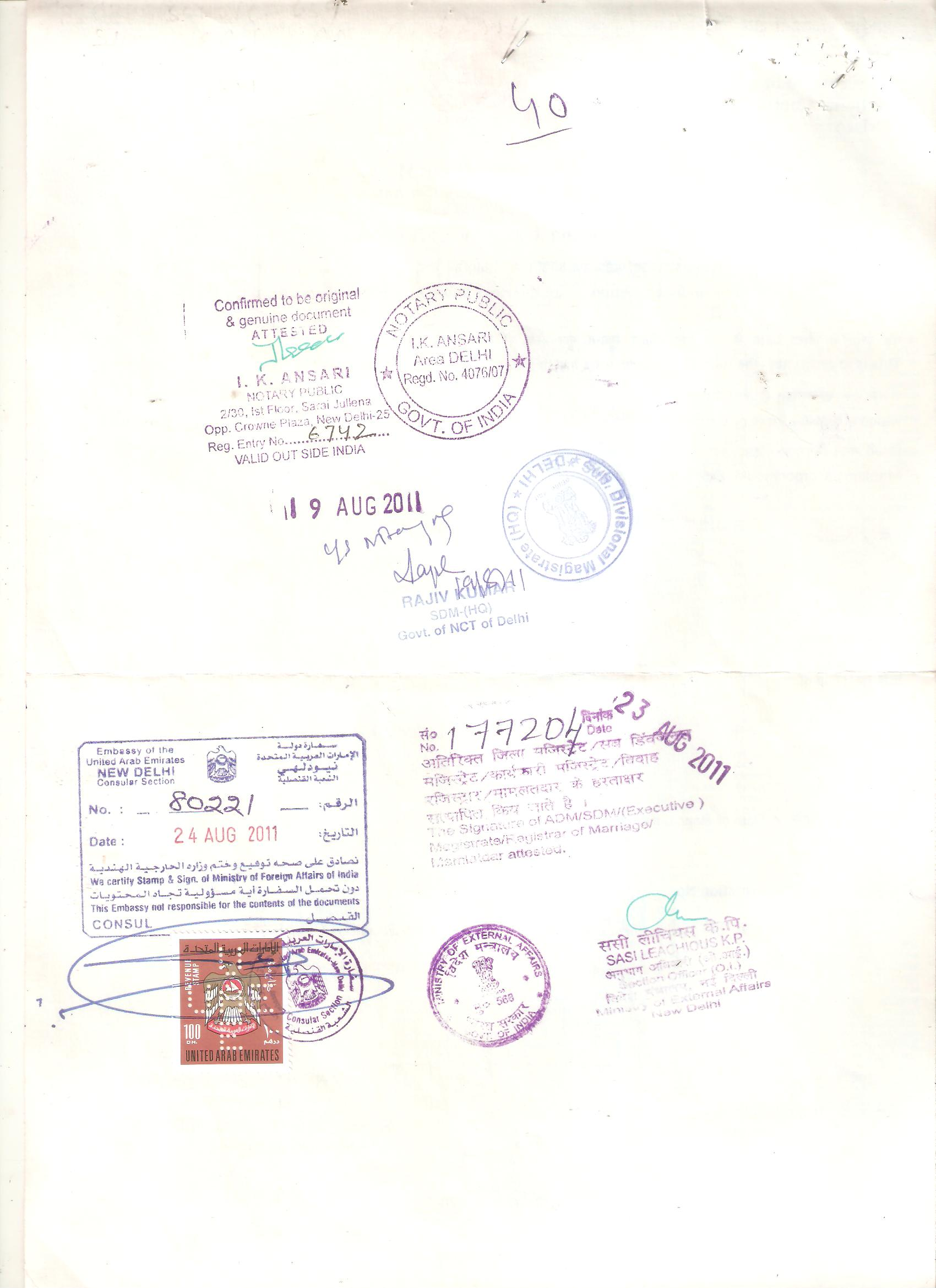 Apostille For Birth Certificate Apostille For Marriage Certificate